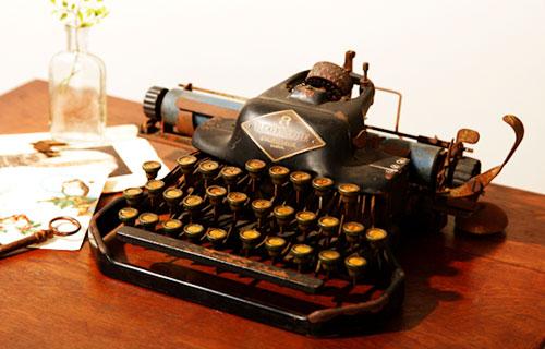 アンティーク‗タイプライター