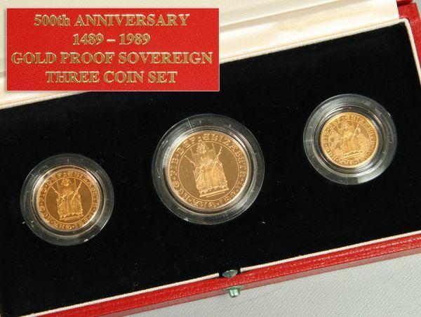 ソブリン プルーフ 金貨
