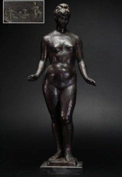 ブロンズ裸婦像
