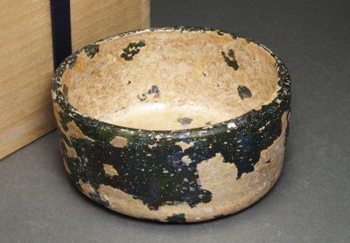 ローマンガラス 鉢