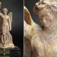 彫刻美術 テラコッタ ニケ女神像 BC3~1世紀 南イタリア