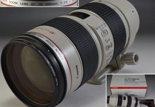 Canonキャノン レンズ EF 70-200mm f