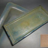 三琇一陽窯造 陶製 水盤
