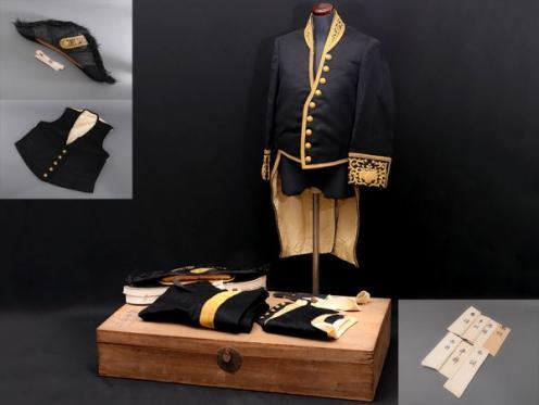 旧日本軍 奏任文官大礼服 一式