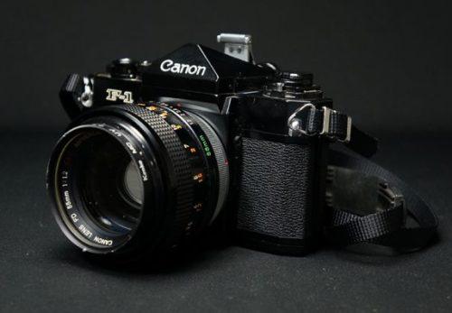 Canon F-1 キヤノン FD 55mm 1:1.2 付