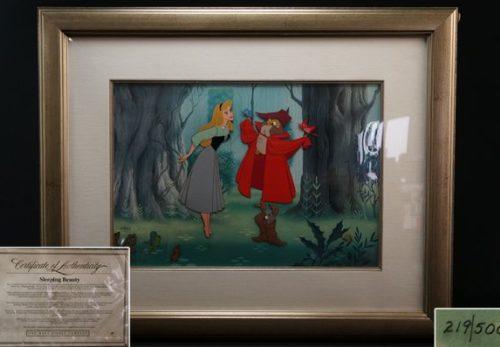 ディズニーセル画「眠れる森の美女」