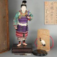 有職 御雛人形司 永徳斎作 日本人形 合箱