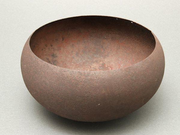 時代金工美術 鉄製 打出 鉢